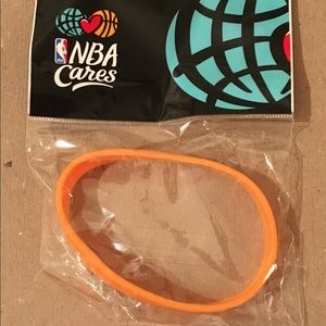 Jewelry - NBA Cares- Orange 🍊 Collector Rubber Bracelet